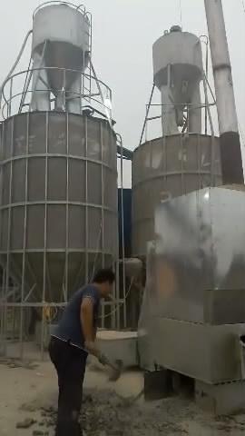 石家庄赵县粮食烘干机作业视频