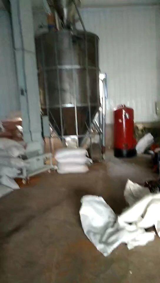 府谷县种子烘干作业现场